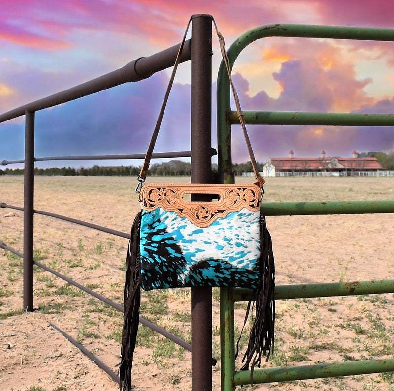 American Palomino Turquoise Purse