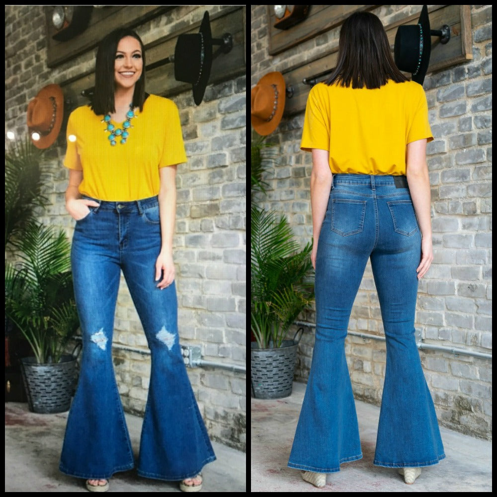 Spotlight Bell Bottom Jeans