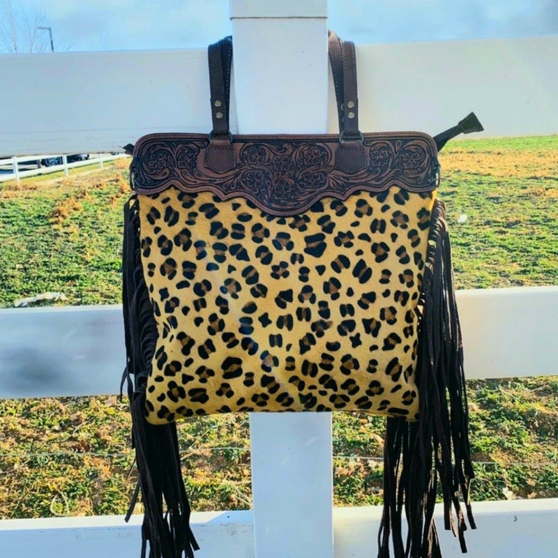 American Cheetah Bag
