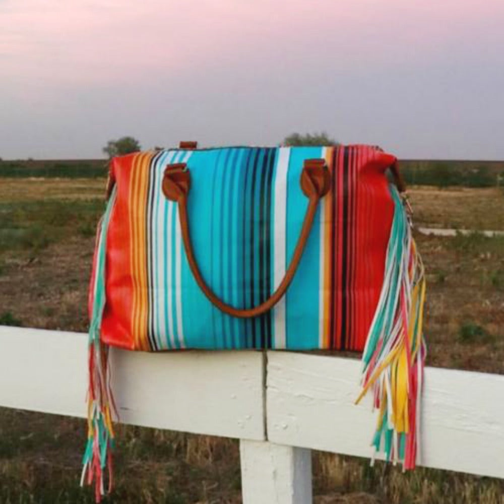 Serape Rainbow Dash Bag
