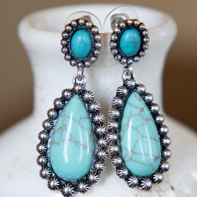 My Little Turquoise Earrings