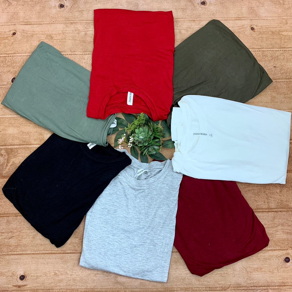 Premium Long Sleeve Basic Tee