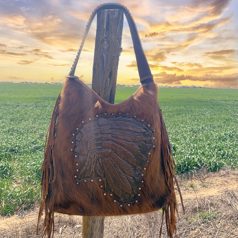 Medicine Man Leather Bag