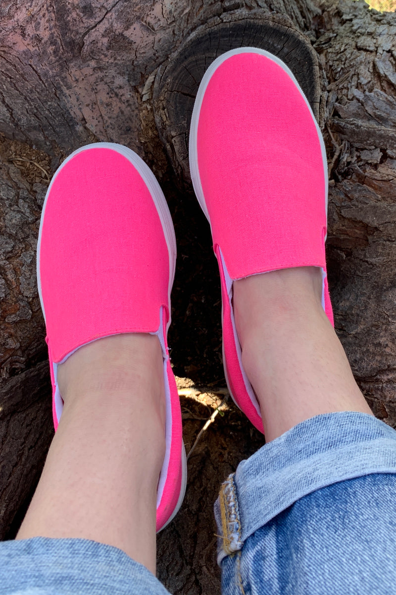 Neon Party Slip-On
