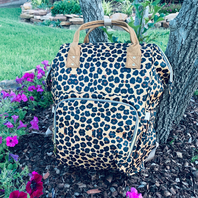 Fabulous Leopard Diaper Bag