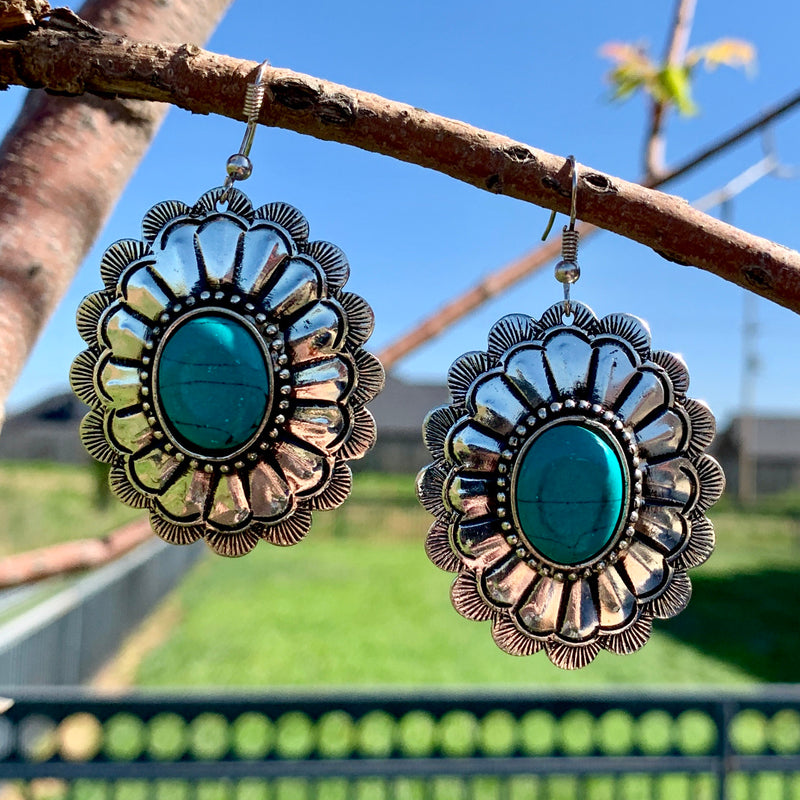 River Ride Concho Earring