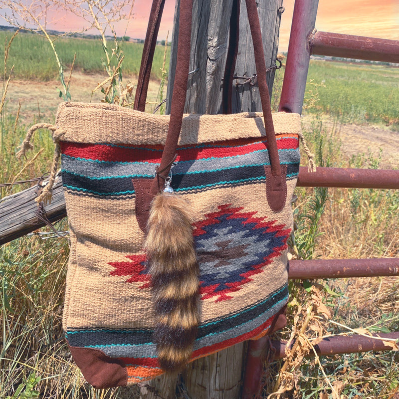 Western Saddle Aztec Bag