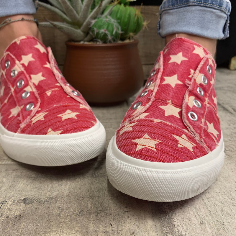Corky's Star Spangled Shoes