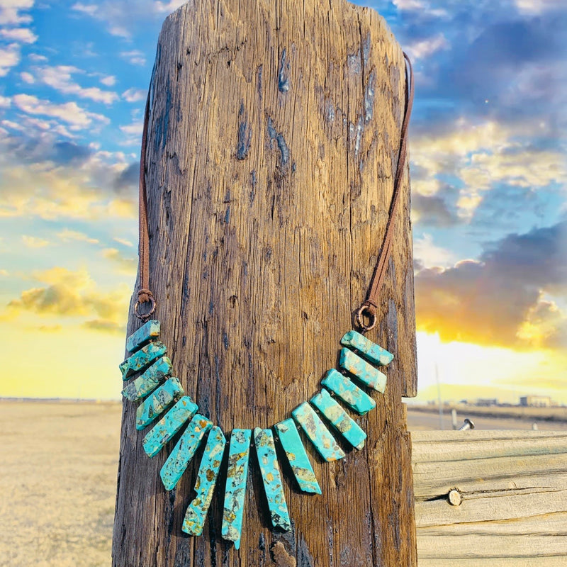 Rocky Blues Necklace