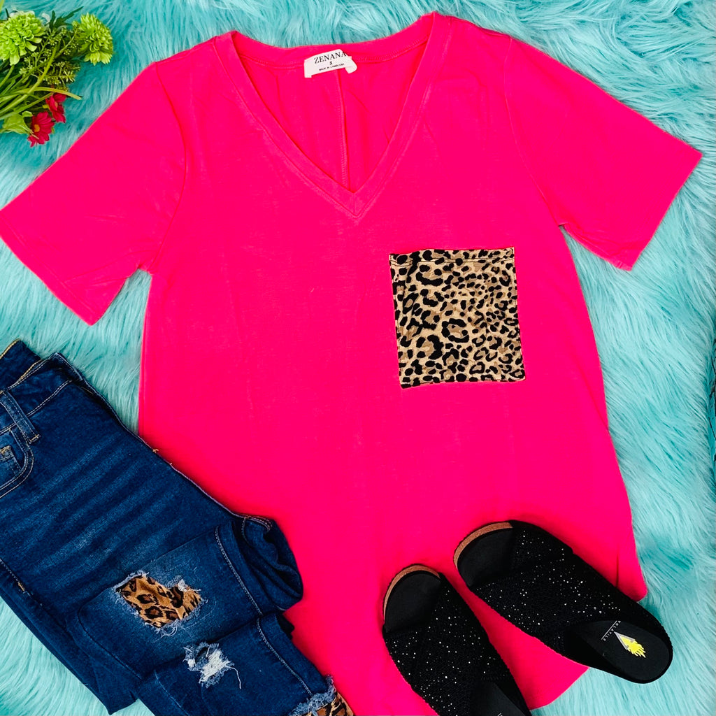 Pink Party Animal Top