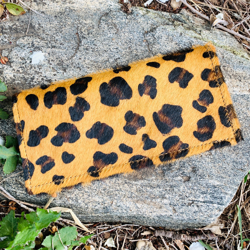 Old Town Leopard Wallet