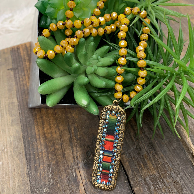 Serape One Way Layover Necklace
