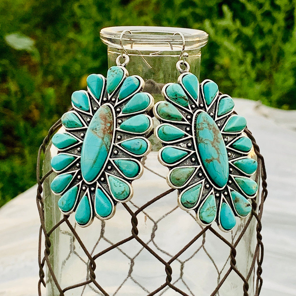 Panama Turquoise Earrings