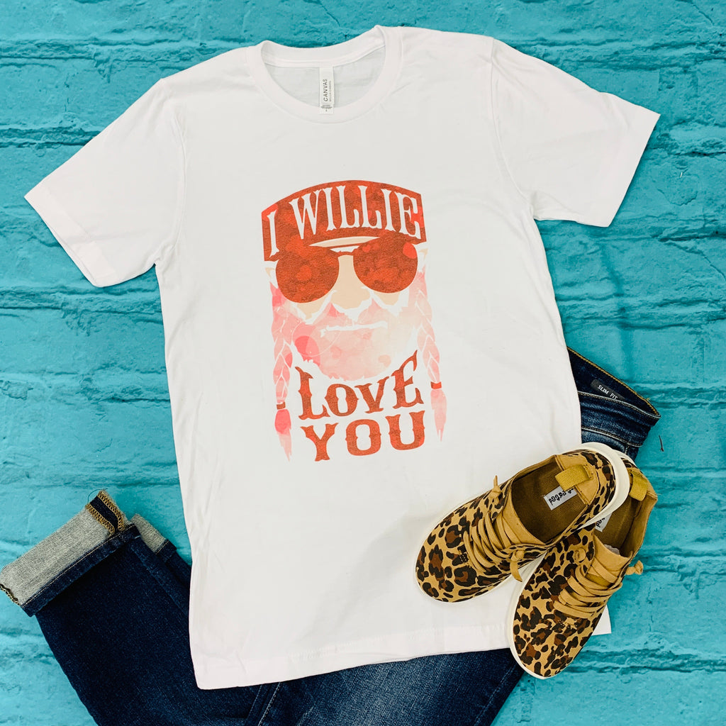 Willie Love You Tee