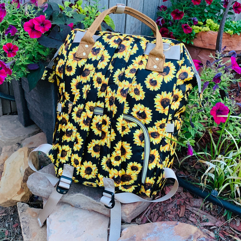 Here Comes The Sun Diaper Bag