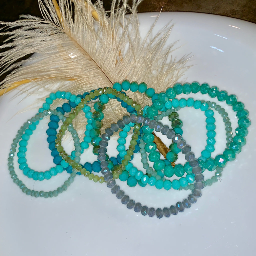 Ocean Breeze Bracelet Stack