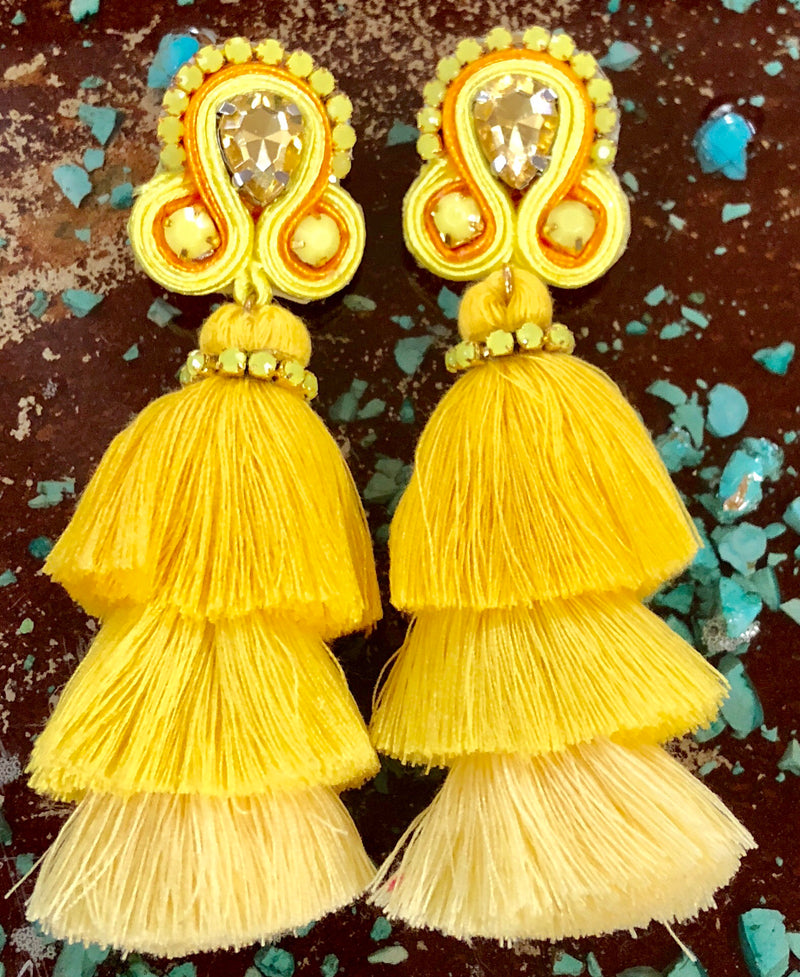 Fully Fabulous Tassel Earrings