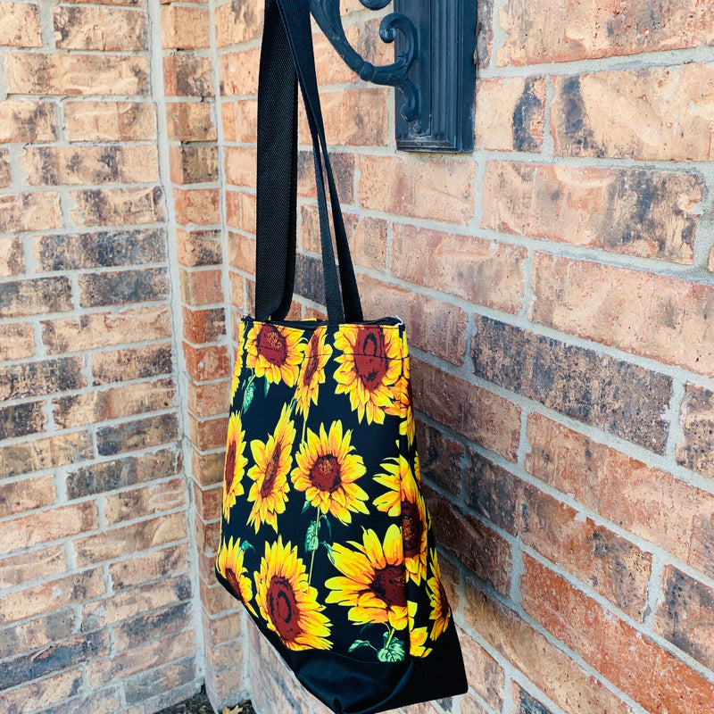 "Sunflower Daze ""Carry All"" Bag"