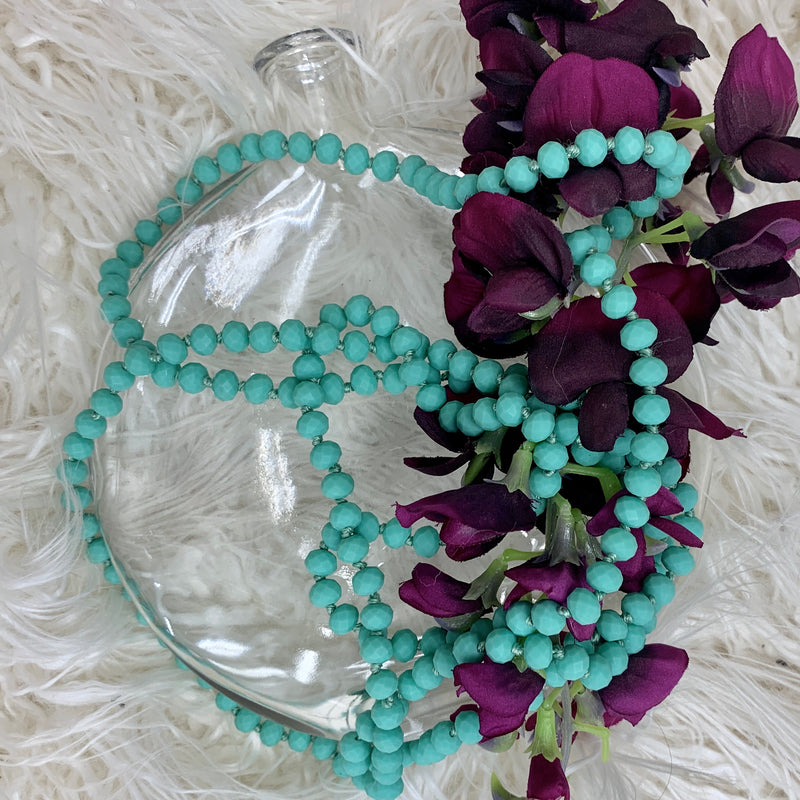 Cry Me A River Beaded Necklace II