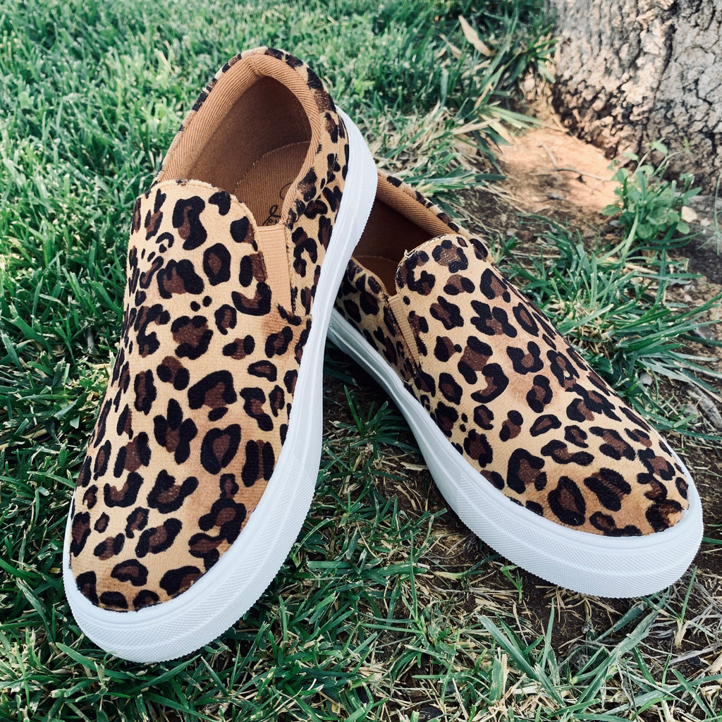 Welcome To The Jungle Slip Ons