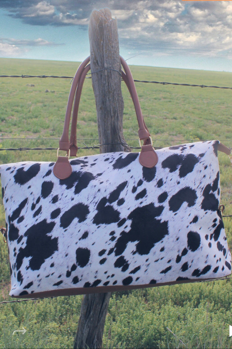 B&W COWgirl Oversize Bag