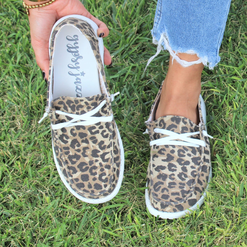 Faded Leopard Loafer