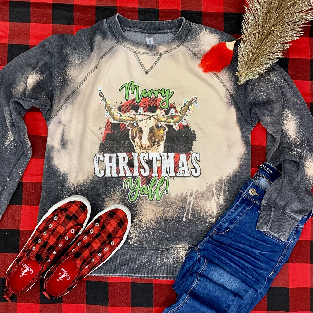 Classic Country Christmas Sweatshirt