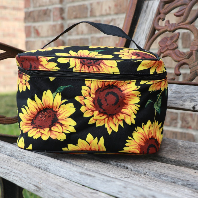 Sunflower Daze Cosmetic Bag