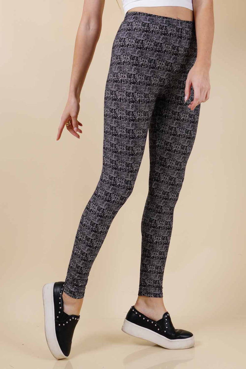 Soft Printed Leggings  (6PK)