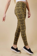 Snake Print Leggings (6PK)