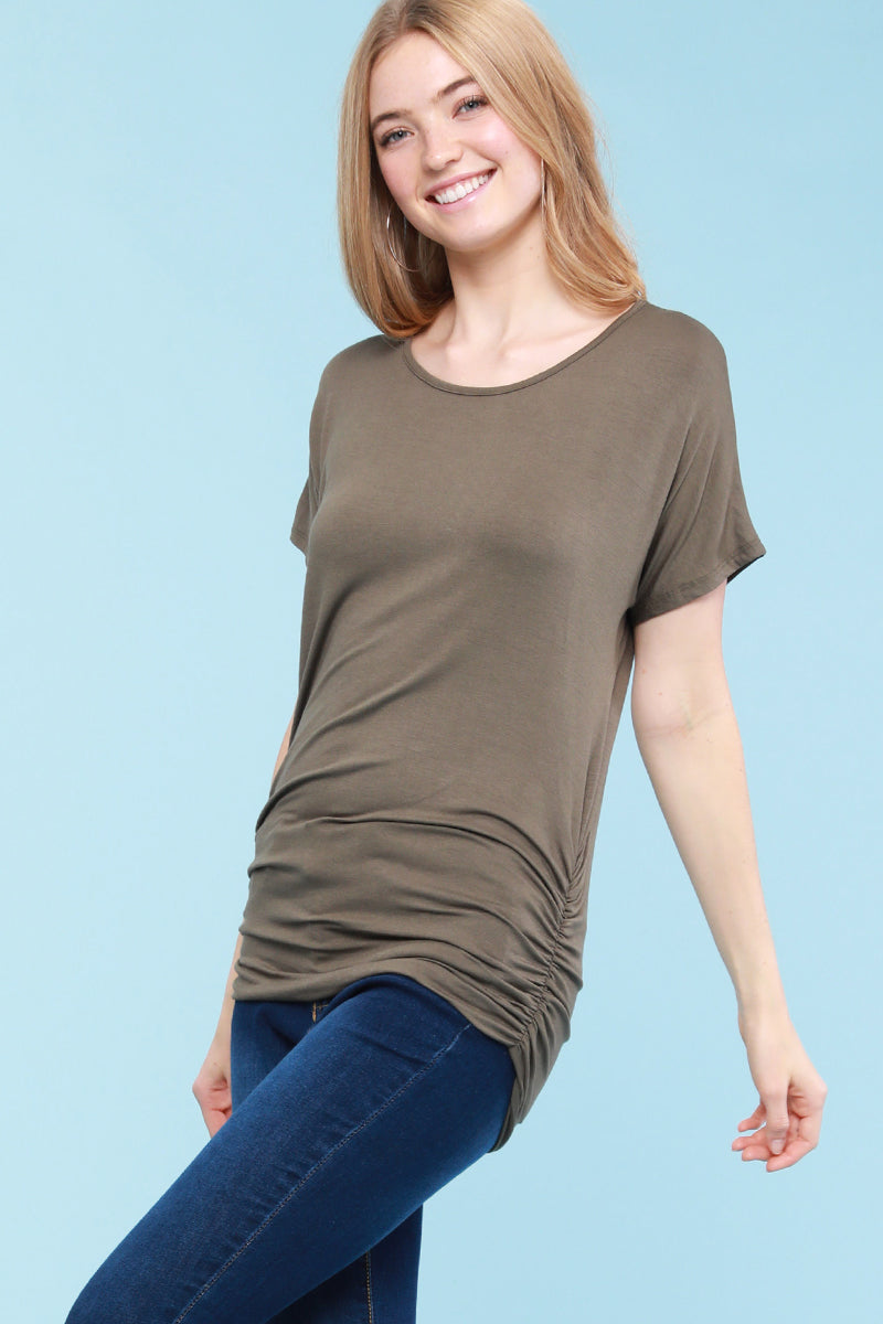 Women Fashion AB Top - Olive (6PK)