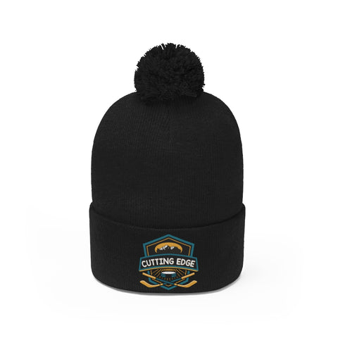 Cutting Edge Mountains Pom Pom Beanie