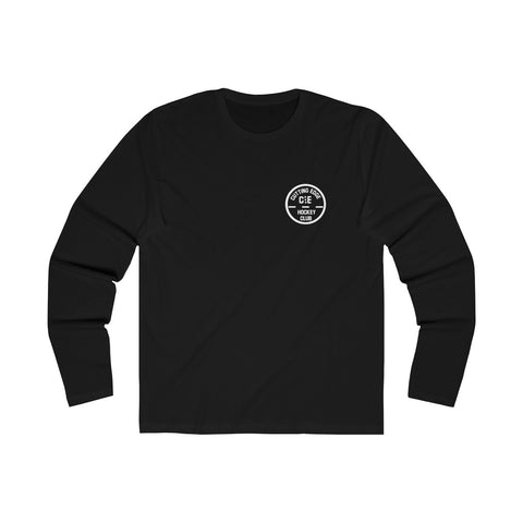 Premium Cutting Edge Hockey Club Logo Long Sleeve Tee