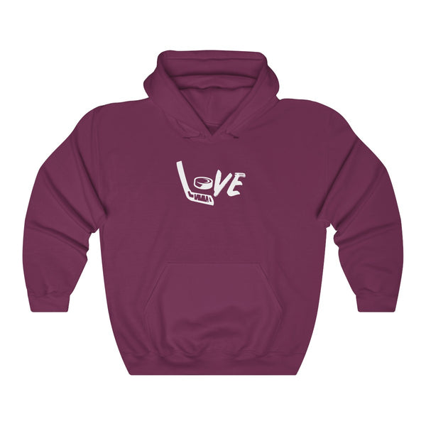 Love Hockey Womens Premium Hoodie