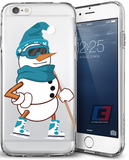 """Frosty the Scoreman"" Christmas iPhone Case"