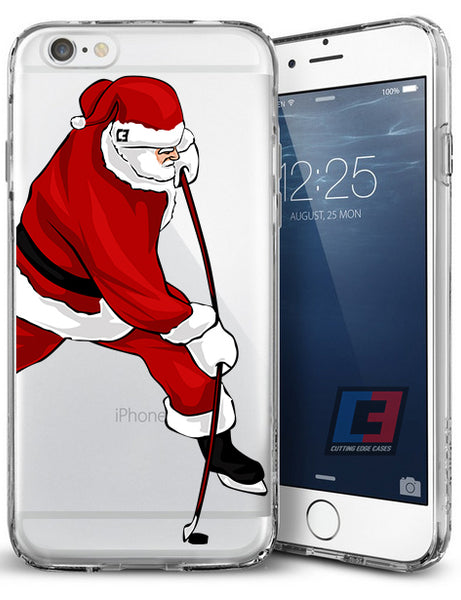 """Santa The Sniper"" Christmas iPhone Case"