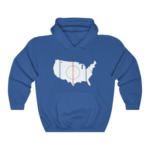 USA, Home of Hockey Hoodie