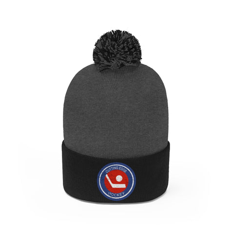 Cutting Edge Vintage Hockey Pom Pom Beanie