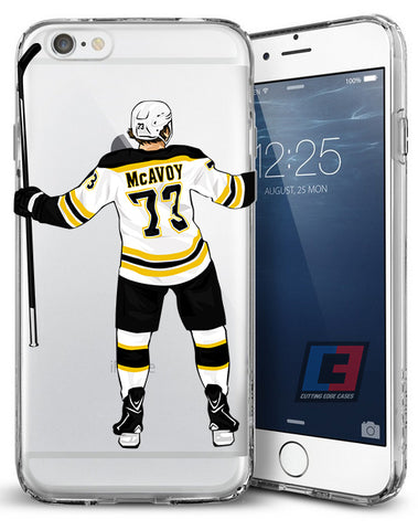 Official Charlie McAvoy iPhone Case