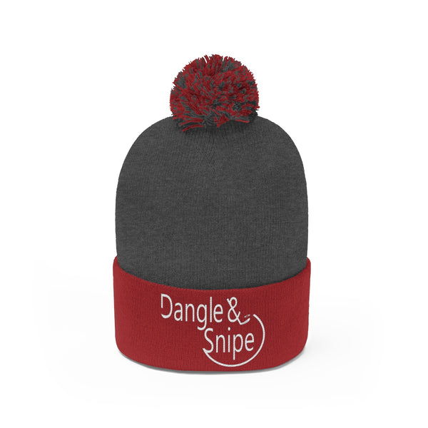 Dangle & Snipe Pom Pom Beanie