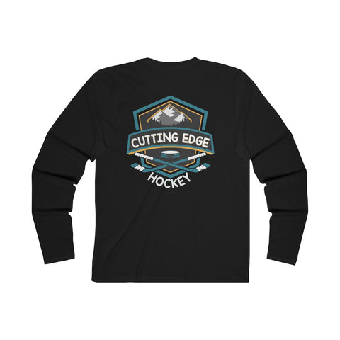Premium Mountain Double Print Long Sleeve Tee
