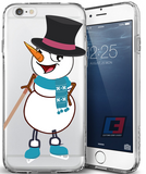 """Frosty the Enforcer"" Christmas iPhone Case"