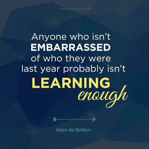 Alain de Botton Quote Learning