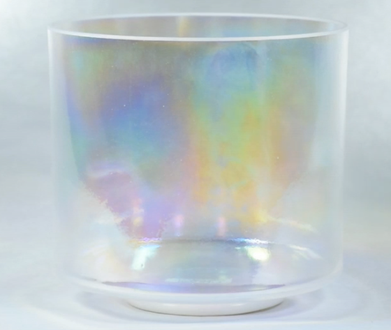 "8"" Crystal Tones™ Platinum Bowl: A beautiful heart sigh of relief"