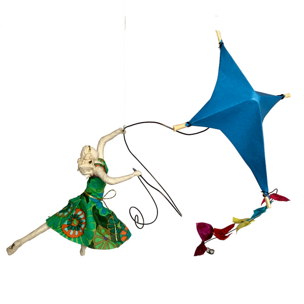 Isadora with Blue Kite