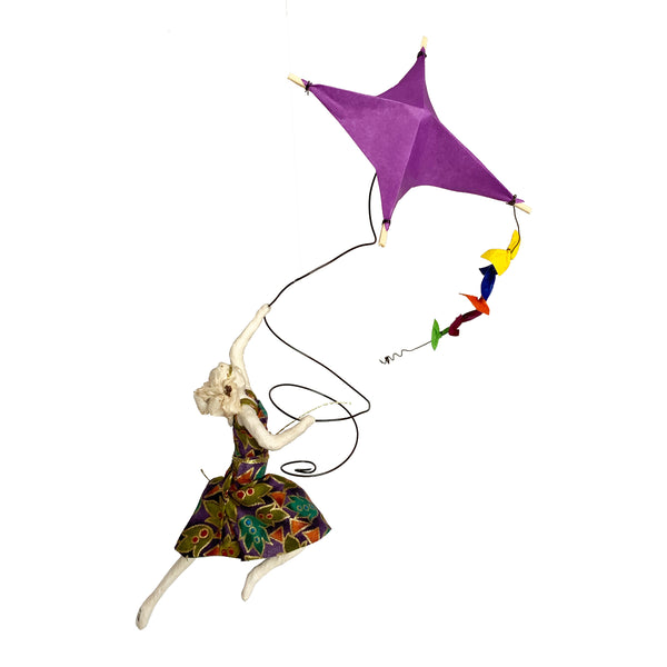 Isadora with Purple  Kite