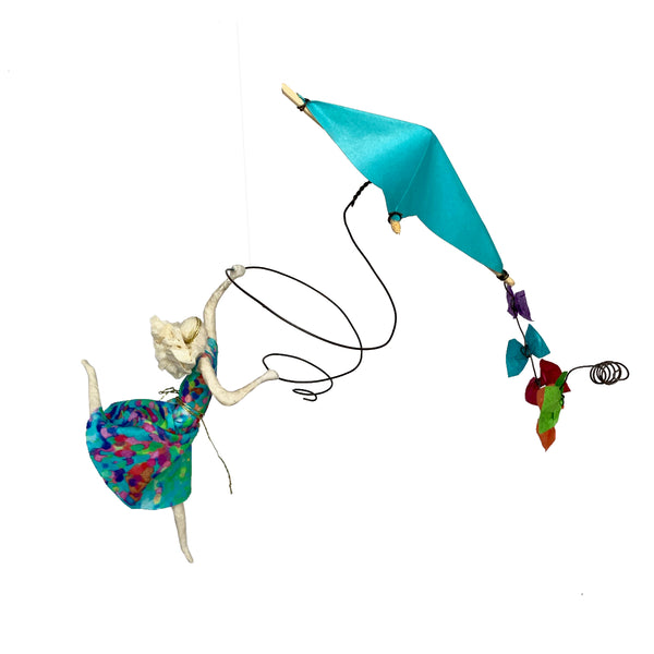 Isadora with Turquoise Kite