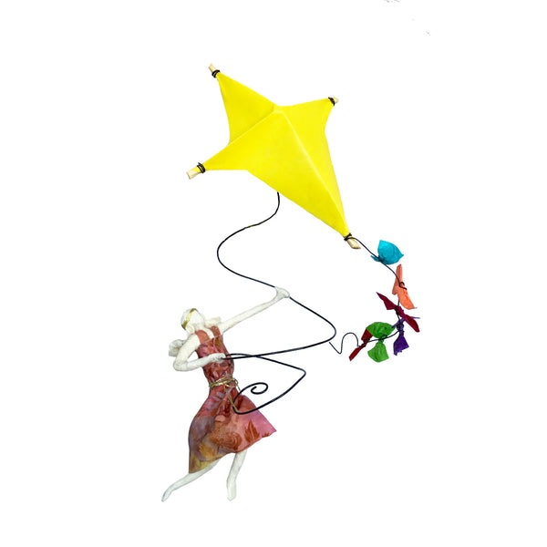 Isadora with Yellow Kite