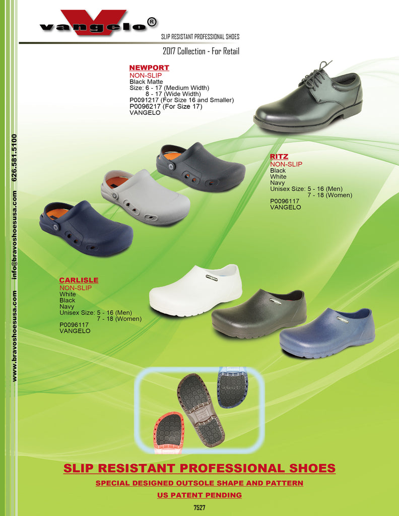 Catalog - Slip Resistant Professional Shoe Collections 2017 Vol.2