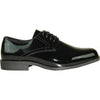 JEAN YVES Men Dress Shoe JY01 Oxford Formal Tuxedo for Prom & Wedding Shoe Black Patent - Wide Width Available